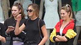 Dcery slavného herce vyrazily na nákup.