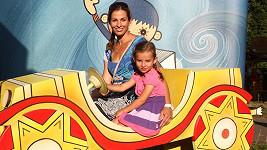 Kateřina Baďurová s dcerou