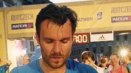 Leoš Mareš byl po závodu na pokraji kolapsu.