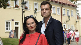 Hana Gregorová a její snoubenec Ondřej Koptík