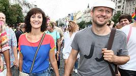 Ester Janečková s manželem Zdeňkem