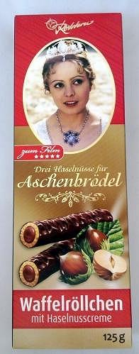 Čokoládový výrobek, na němž je bez souhlasu Šafránkové její podobizna.