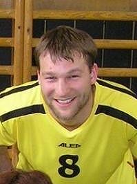 Radoslav Budáč dnes hraje volejbal.