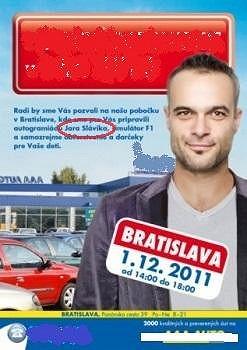 Jaro Slávik se stal tváří autobazaru.