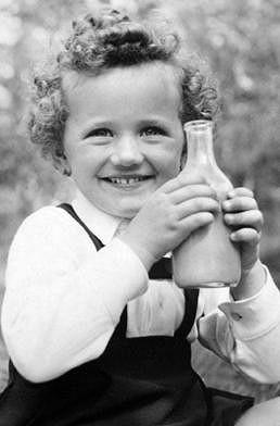 Zdena Hadrbolcová byla rozkošná holčička.