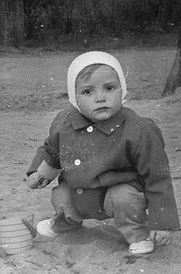 Jiří Macháček byl roztomilé dítko.