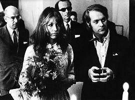 Marta s prvním manželem, který ji málem zabil.