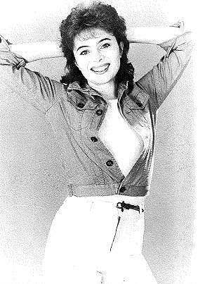 Libuše Šafránková na fotce z mládí.