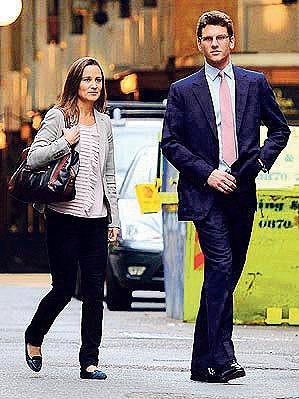 Pippa Middleton se svým teď už bývalým přítelem Alexem Loudonem.
