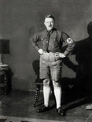 Adolf Hitler na snímku z konce 20. let.