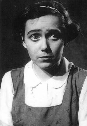 Jiřina Jirásková na počátcích své kariéry.