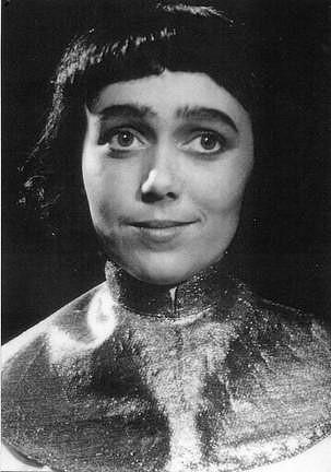 Jiřina v roce 1952 ve hře Jan Žižka.