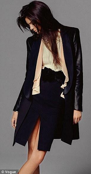 Kendall Jenner je rozená modelka.