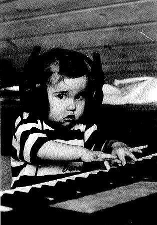 Holčička byla talentovaná hudebnice.
