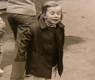 Kateřina byla roztomilé dítě.