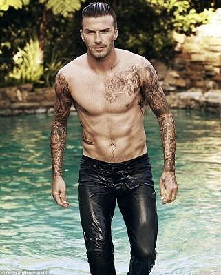 David Beckham pro Elle.