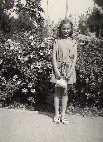 Sisa Sklovska byla roztomilá holčička.