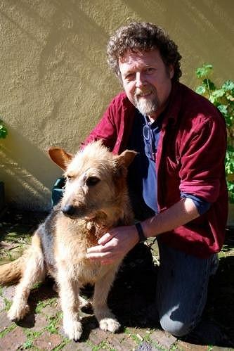 Vernon Swart se svou fenkou Bellou.