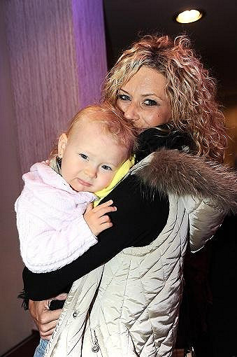 Katka s dcerou Annemarií.