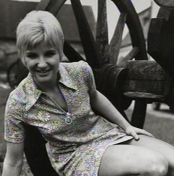 Jana Koubková v 70. letech.
