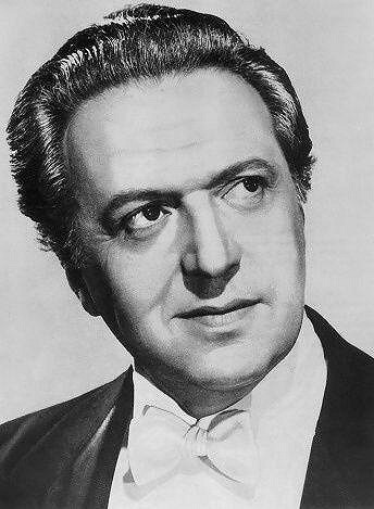 Hugo Haas v padesátých letech.
