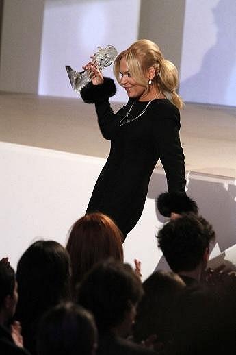 Dagmar Havlová ani nemusela tančit, aby ukázala, jakou má nádhernou postavu.
