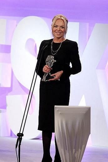 Havlová loni převzala Českého lva za zesnulého manžela Václava Havla, který dostal ocenění za nejlepší původní scénář k filmu Odcházení.
