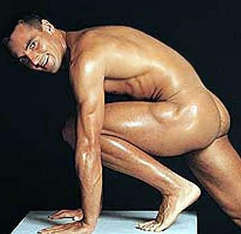 Roman Šebrle má neuvěřitelné tělo.