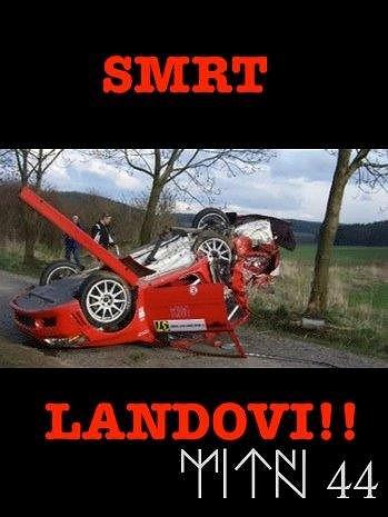 Tenhle obrázek si dal Daniel Landa na Facebook. Zešílel snad?
