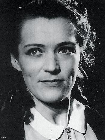 Luba Skořepová ve svých hereckých počátcích.