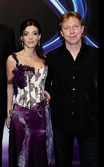 Dasha s přítelem Martinem Kumžákem.