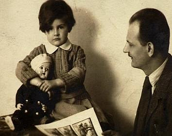 Kamila Moučková jako malá holka.