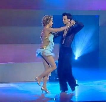 Lucie Vondráčková tančit umí.