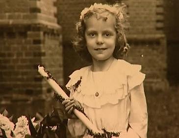 Hana Zagorová na fotce z dětství.