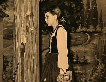 Zagorová v divadelním představení