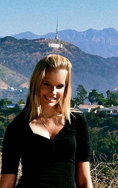 Kristýna Pumprlová právě pobývá v Hollywoodu.
