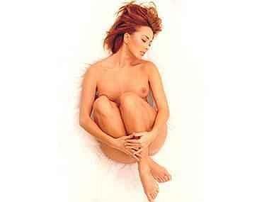 Žanna Friske a její nejodvážnější fotka.