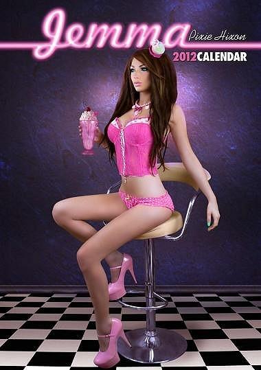 Jemma Pixie Hixon nafotila sexy kalendář.