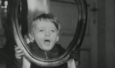 Karel Zich jako malý roztomilý klouček.