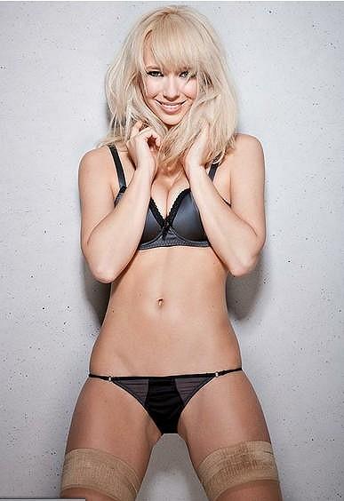 Katia Ivanova je na snímcích ohromně sexy.