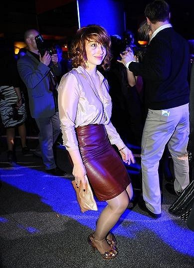 Vica předváděla taneční kreace.