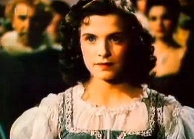 Milena Dvorská jako Maruška v pohádce Byl jednou jeden král.