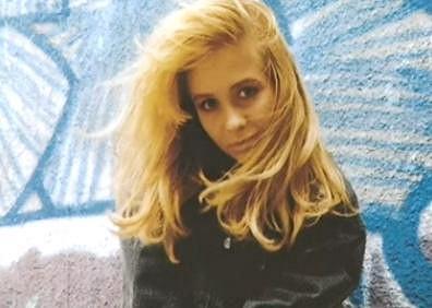 Tereza Pergnerová se svou typickou blond hřívou.