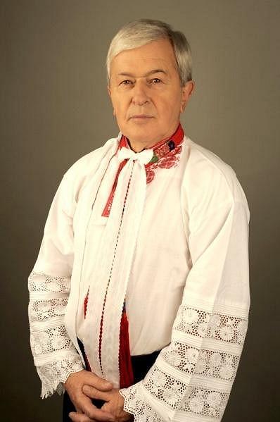 Jožka Černý tak, jak ho mají jeho fanoušci nejraději - v moravském kroji.