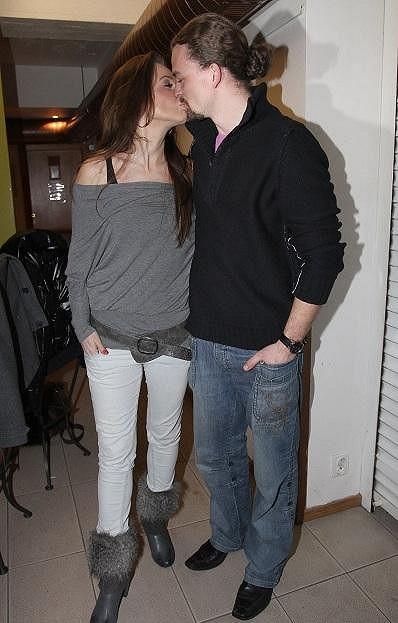 Pavla s manželem Dušanem.