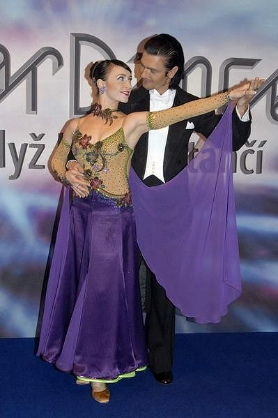 Tatiana Vilhelmová s Petrem Čadkem skončili na druhém místě.