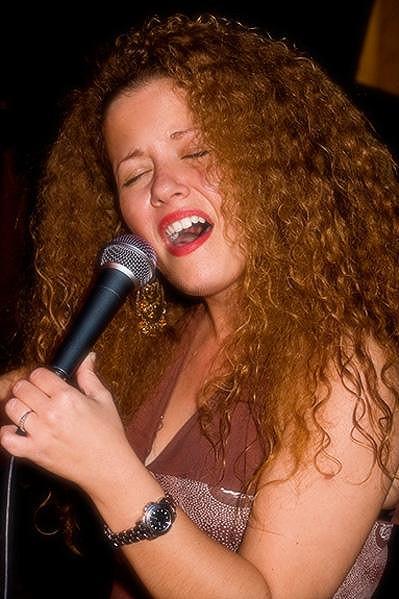 Daniela D'Ercole při jednom ze svých newyorských vystoupení.