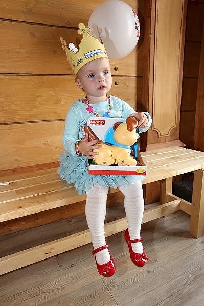 Claudie měla i královskou korunu.