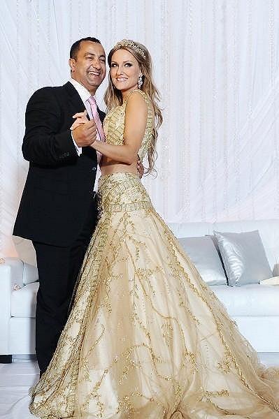 Zuzana Rosáková s manželem Imedem Jeddaiem.