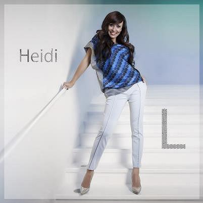 Sexy Heidi na obalu nového singlu.